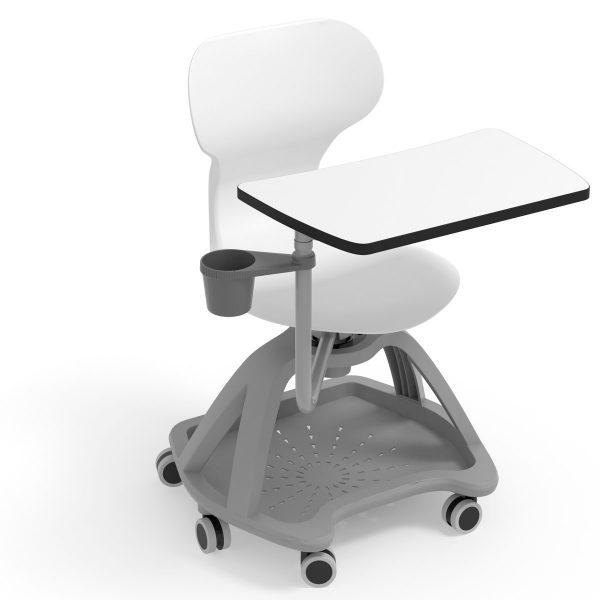 silla mia table color blanco