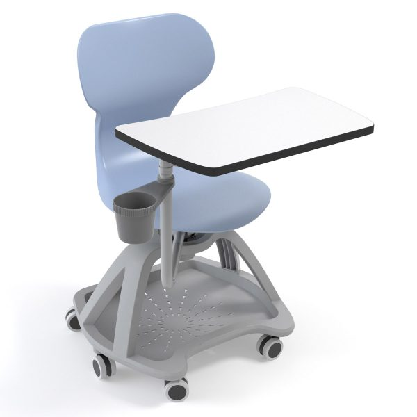 Silla Mia table mirplay azul