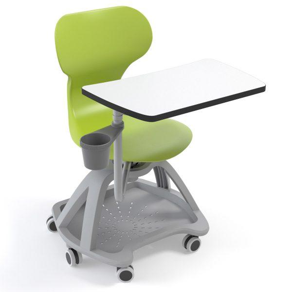 Silla Mia table verde con pala
