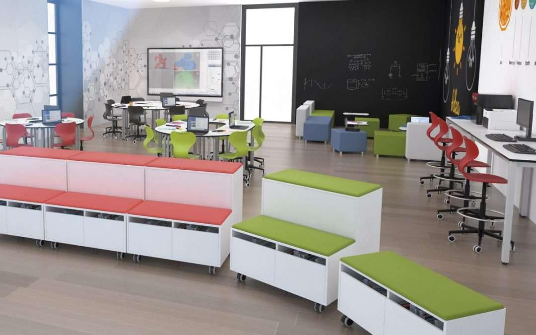 Ideas para diseños de interiores en espacios educativos