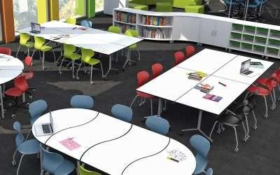 Por qué el mobiliario escolar y el colorido del aula ayudan a aprender