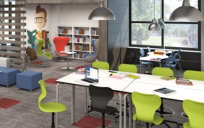 8 ideas para darle color a las aulas