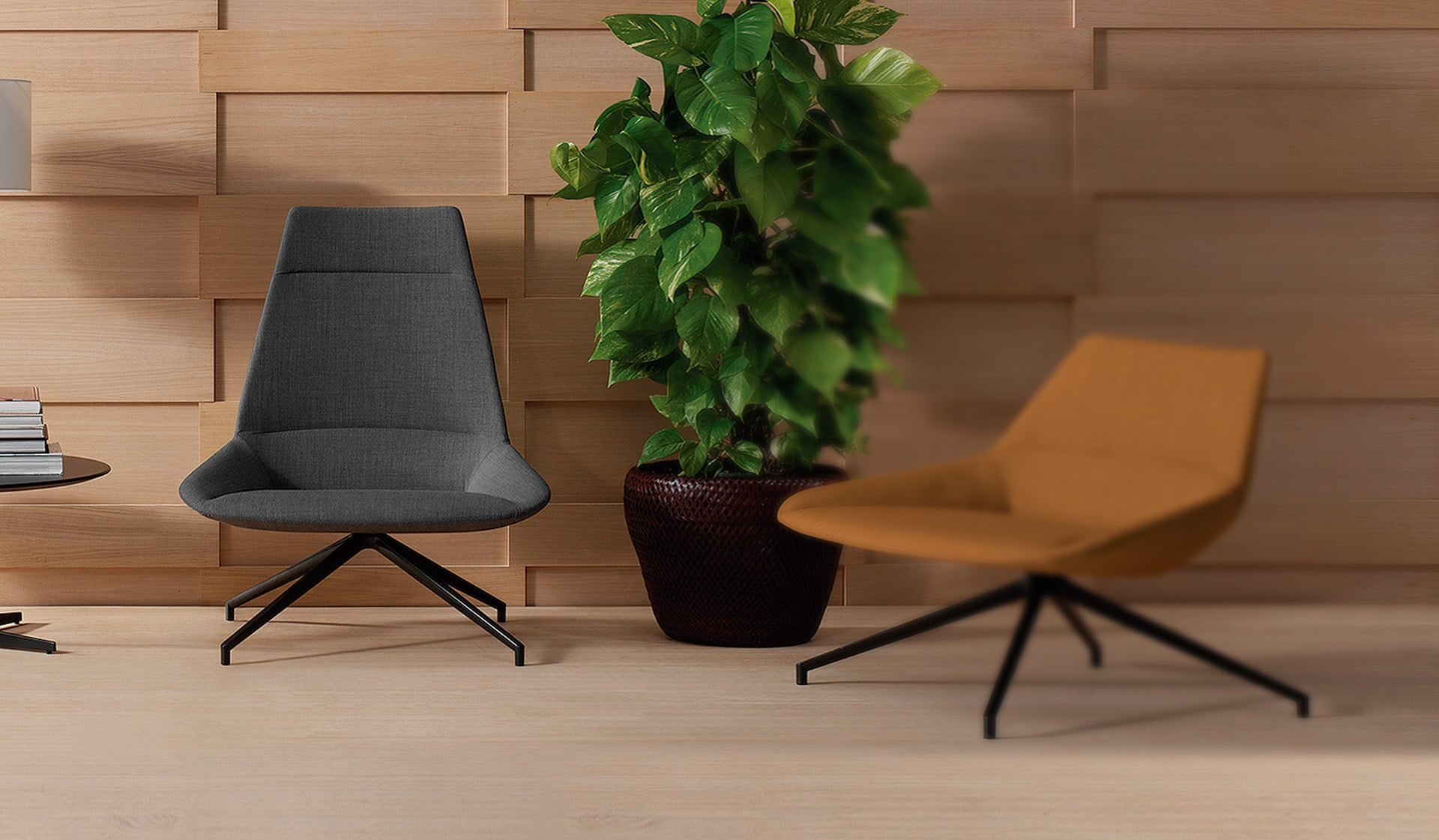 sillones en sala de espera