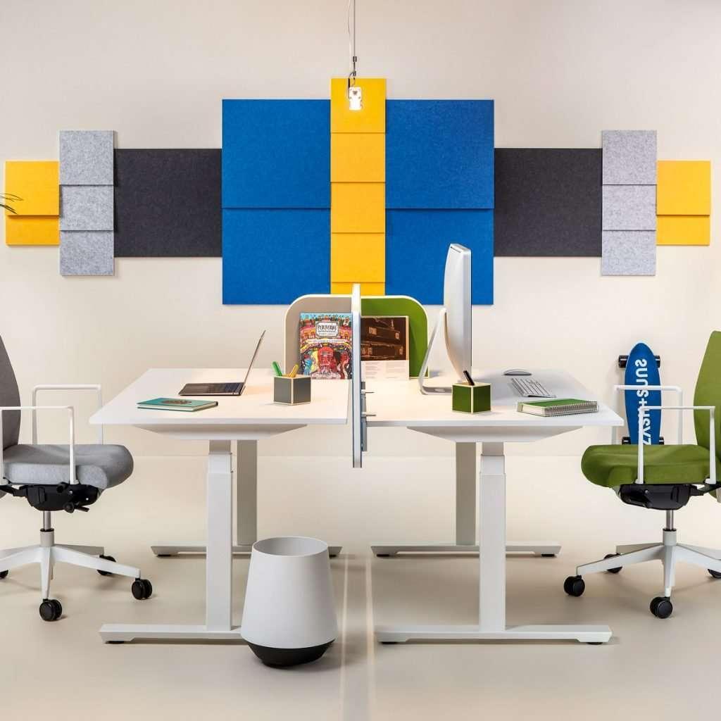 Paneles fonoabsorbentes para oficina