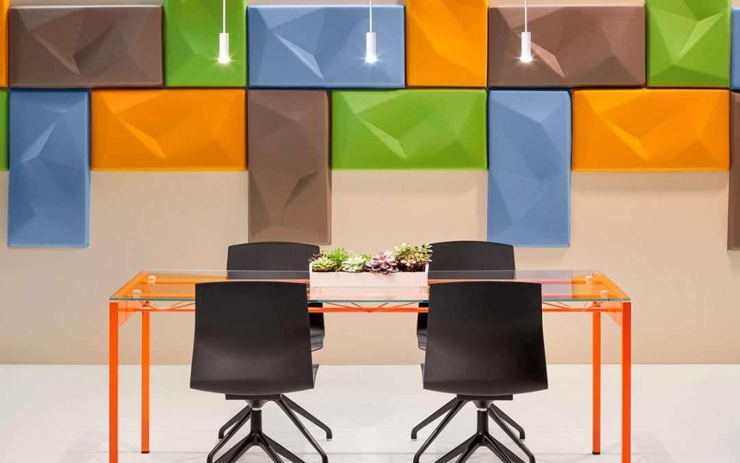 La psicología del color en los espacios de trabajo y estudio
