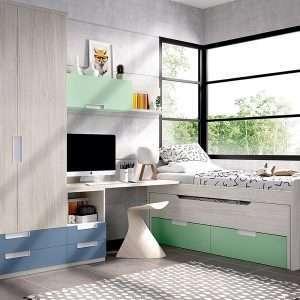 Mobiliario habitación, composición H114
