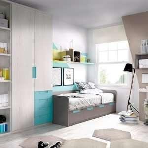 Mobiliario habitación, composición H209