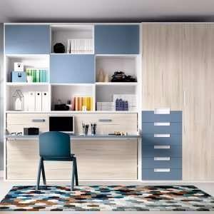 Mobiliario habitación, composición H404