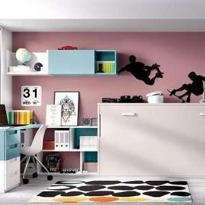 Mobiliario habitación, composición H406