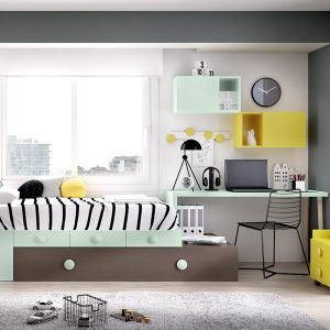 Mobiliario habitación, composición H505