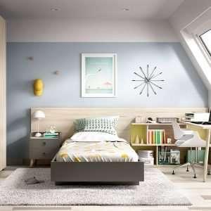 Mobiliario habitación, composición H601