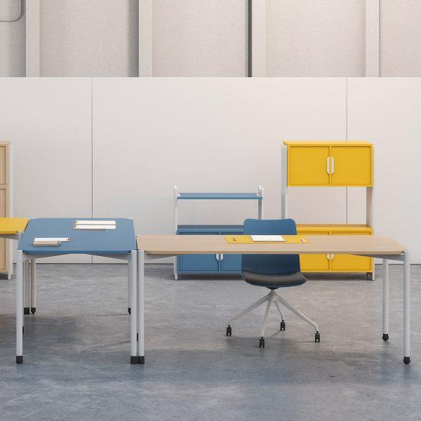 Mobiliario polivalente para colegios, oficinas, restaurantes y hoteles