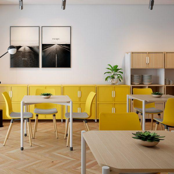 Mesas modernas para restaurante
