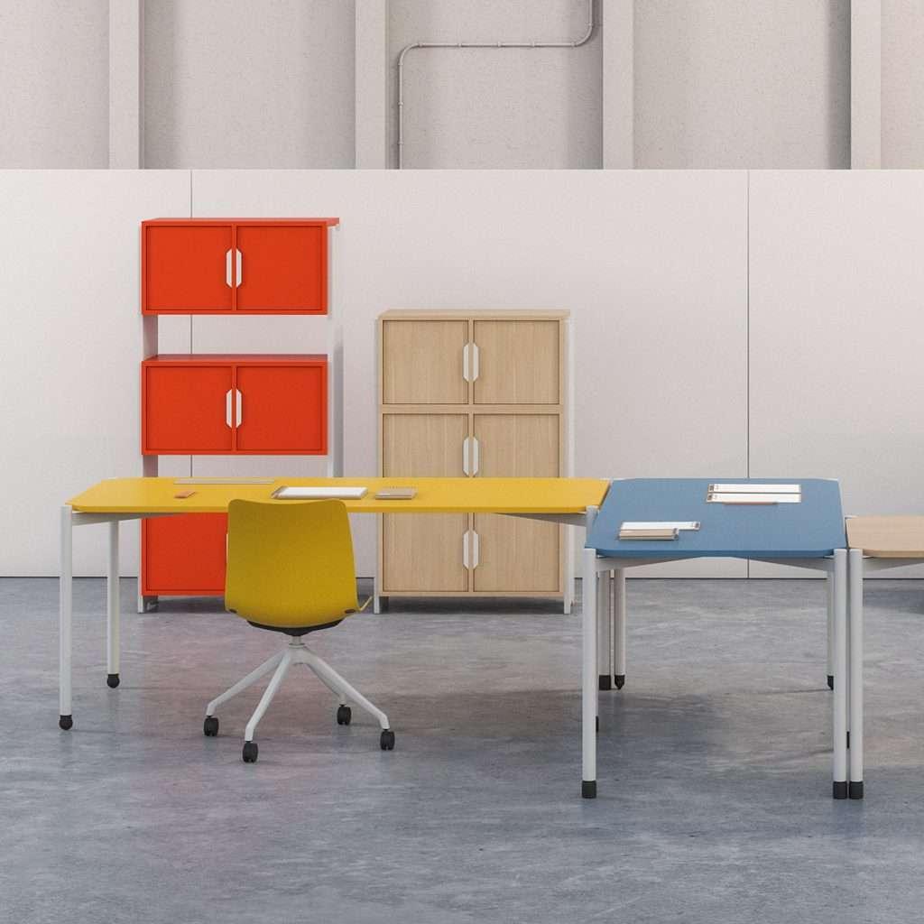 Mobiliario polivalente para espacios públicos