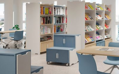 Ideas para amueblar una biblioteca