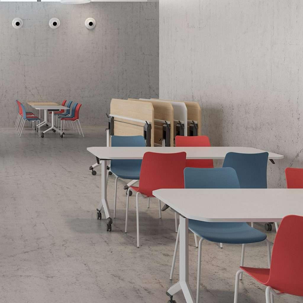 Mesas plegables para comedor