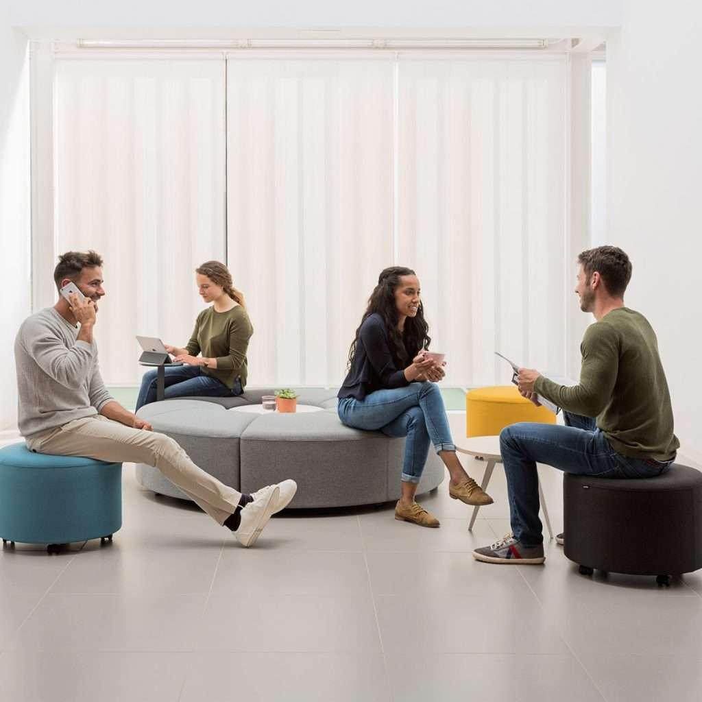 Zona de relax en oficina