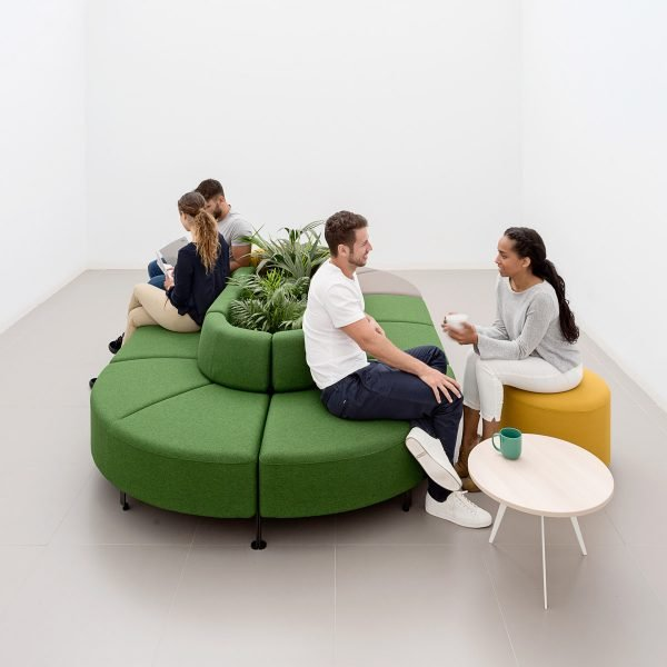 Sillones modulares Bend