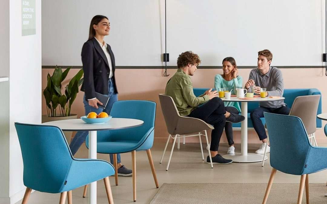 Mobiliario para nuevos espacios de encuentro en hoteles, restaurantes y cafeterías