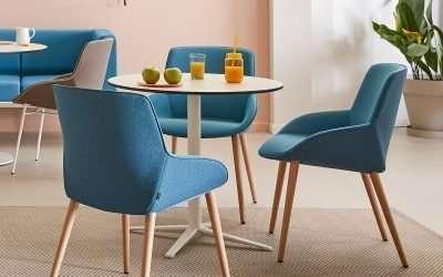 Sillones Noom, sillones elegantes y confortables para uso público