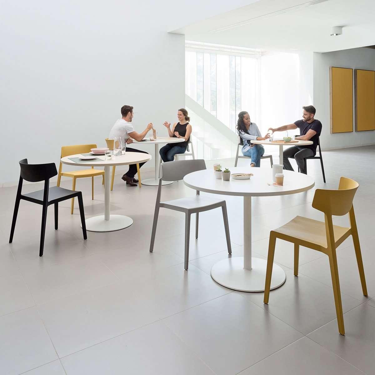 mobiliario para cafeteria con zona de trabajo
