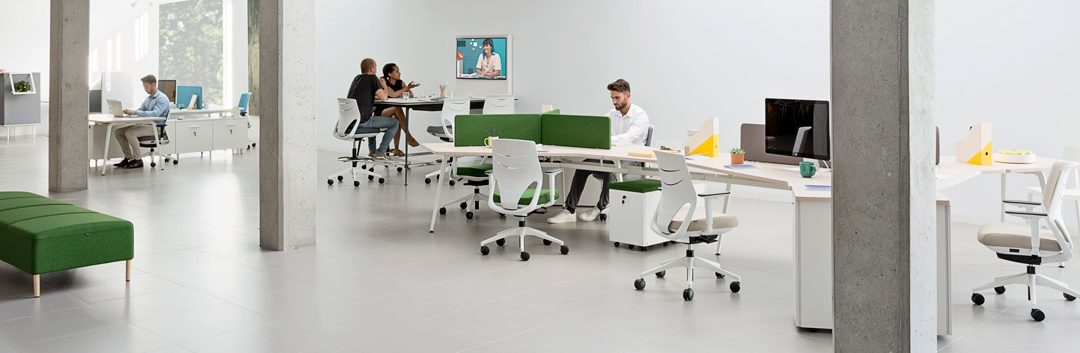 Tendencias en muebles de oficina y espacios coworking