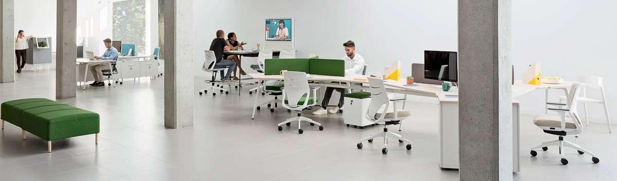 oficina coworking para trabajo colaborativo
