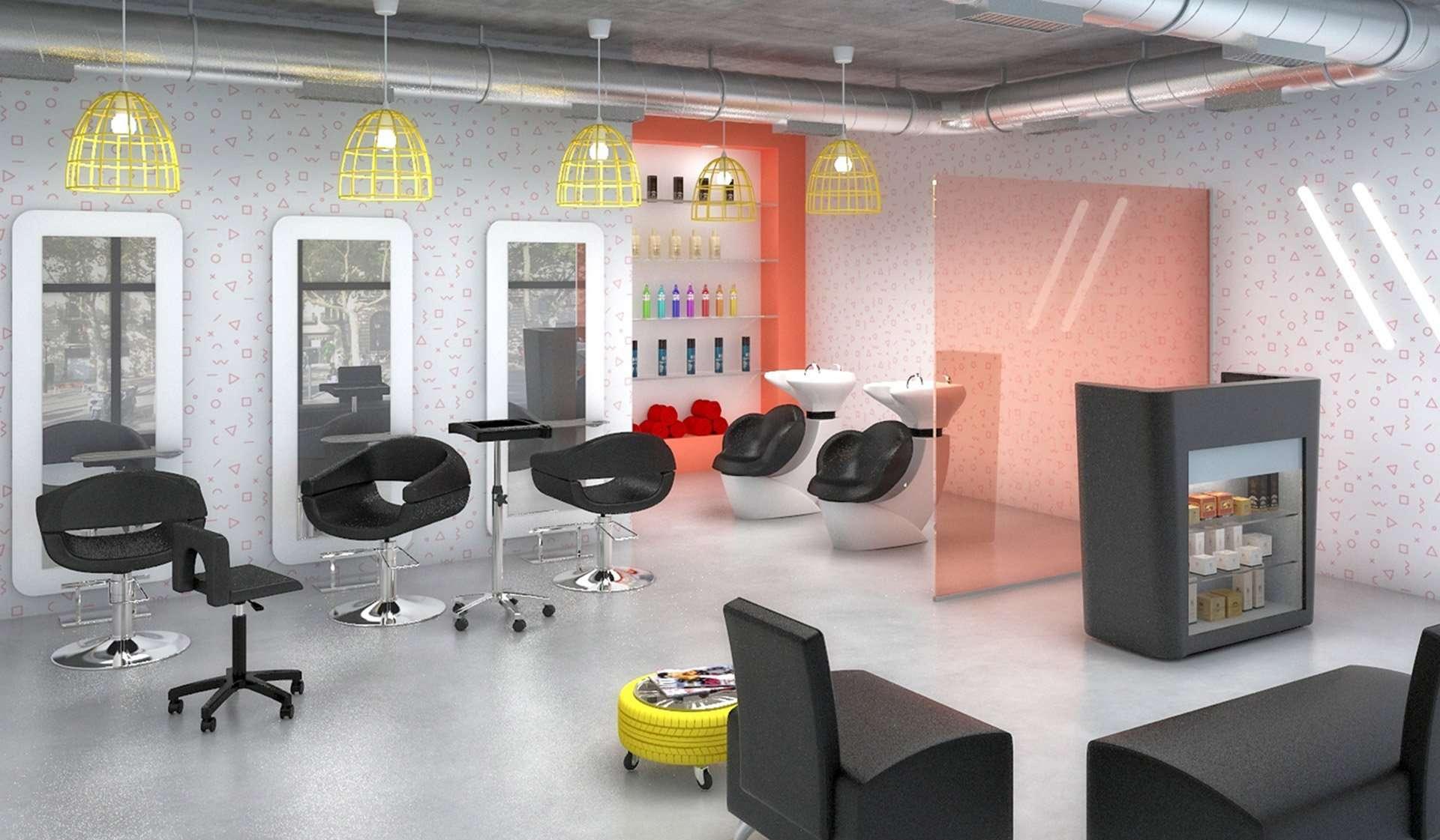 Mobiliario contract para colectividades - home peluqueria