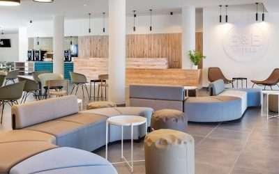 Equipamiento de las zonas comunes del Hotel B&B Lisboa Aeroporto