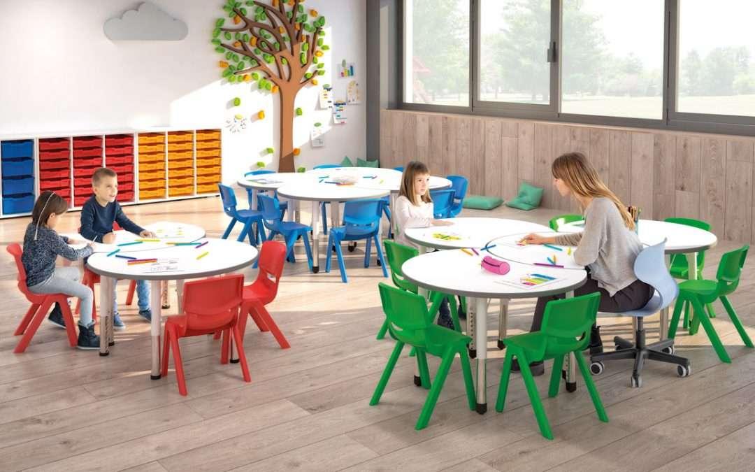 ¿Cómo ayudan las sillas ergonómicas al crecimiento de los niños?