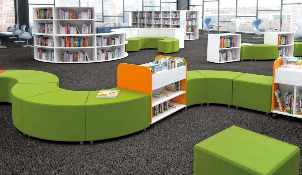 Mobiliario de biblioteca