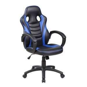 Silla para gaming azul