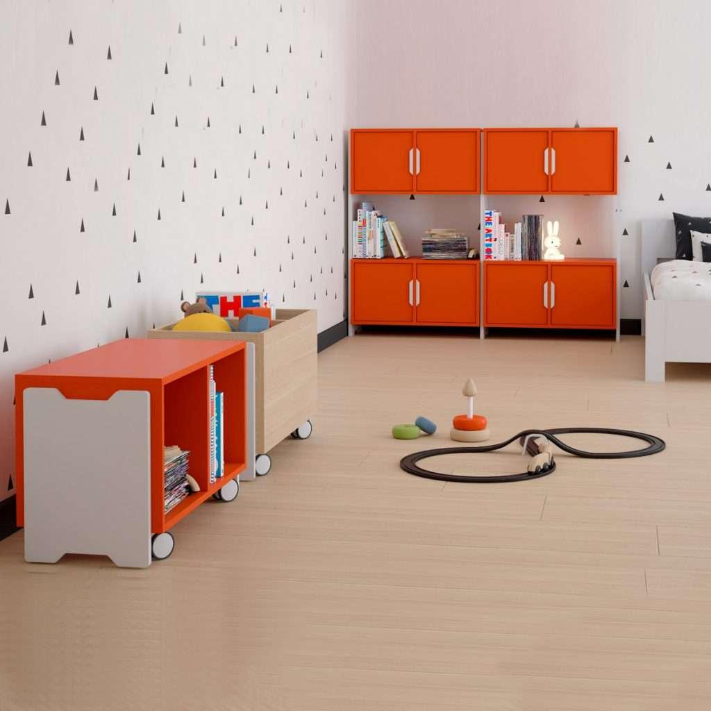 Tóteem mobiliario infantil de Vintiquatre